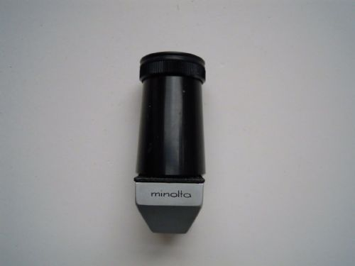 Minolta Right Angle finder fits most Canon DSLR's, including 50D, 5D mark II